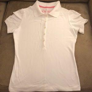 Victoria's Secret Polo Shirt:  LARGE